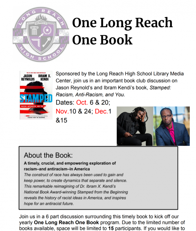 Stamped Book Club Flyer