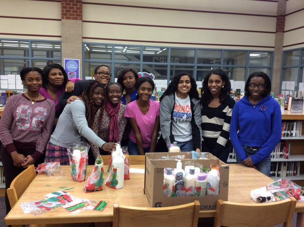 Delta Scholars creating packages for grassroots