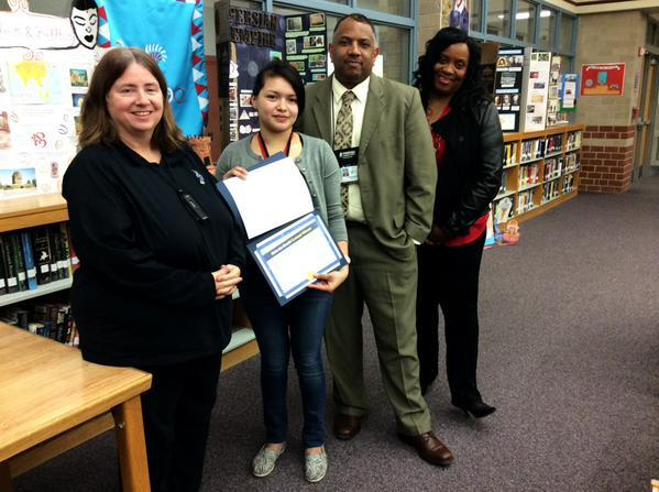 Congrats to Kelin Linder Moran for receiving the Empower's Winter Session Reading Award for the state!