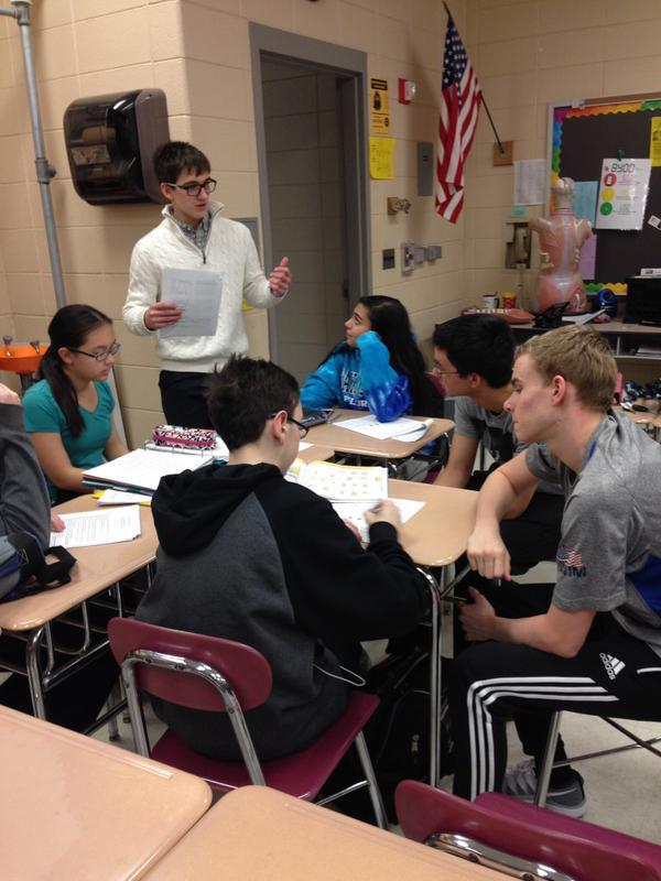 Science National Honors Society helping students prepare for mid terms