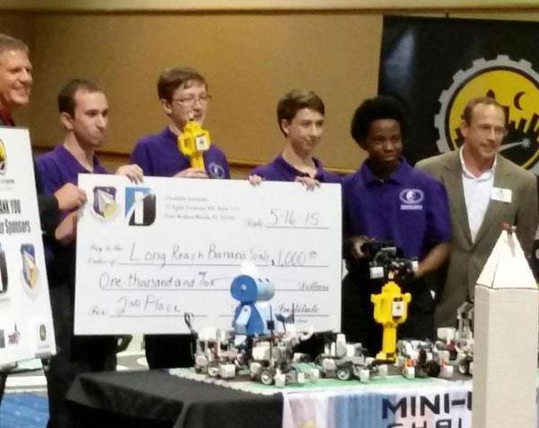 LRHS Robotics Team won 2nd Place at Nationals and took home a $1000 check.